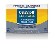 OSTEVIT-D ONE A WEEK 10 CAP S3