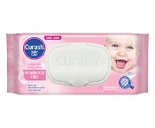 Curash Baby Fragrance Free 80 Baby Wipes