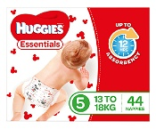 Huggies Essentials Nappies Size 5 44 Pack