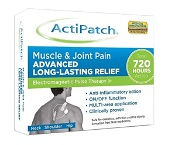 ActiPatch Electomagnetic Pulse Therapy Muscle & Joint Pain Patch