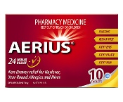 Aerius 24 Hour Relief 10 Tablets