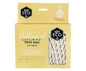 Ever Eco Tote Bag Organic Cotton Net Long Handle