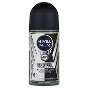Nivea Men Anti-Perspirant Roll On Black & White Invisible Original 50ml