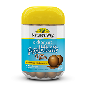 Natures Way Kids Smart Probiotic Choc Balls 50 Pack
