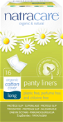 Natracare Panty Liners Long 16 Pack