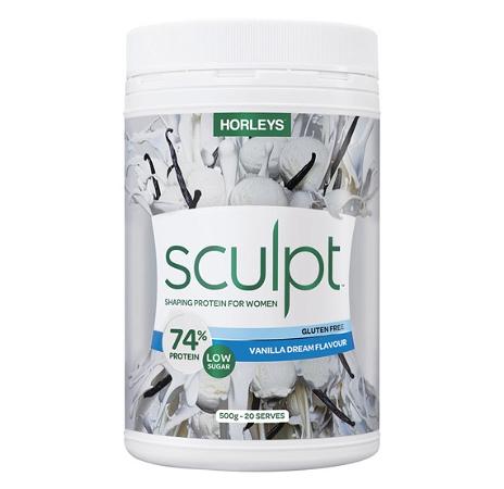 Horleys Sculpt Protein Powder Vanilla 500g