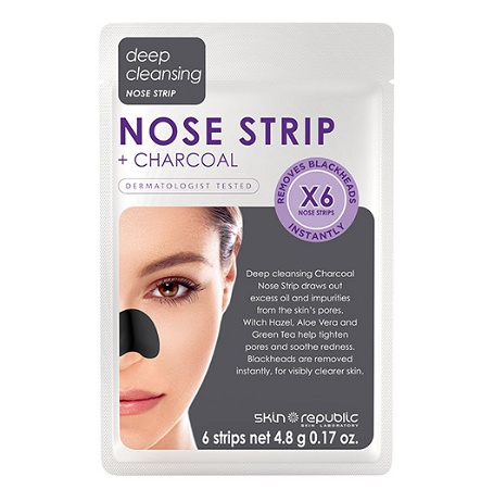 Skin Republic Charcoal Nose Strips (6 Applications)