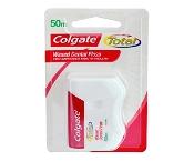 Colgate Dental Floss Total Waxed 50m