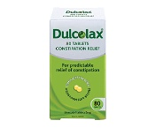 Dulcolax Laxatives for Constipation Relief 80 Tablets