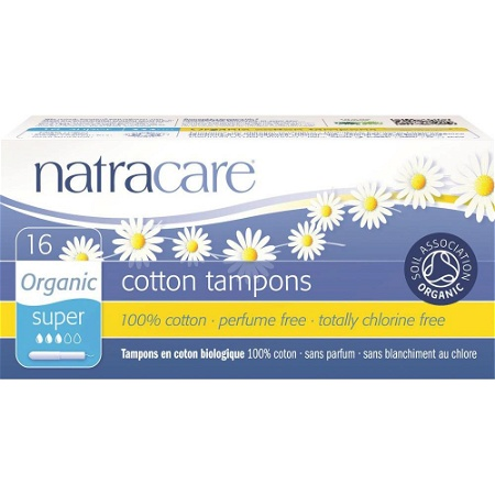 Natracare Tampons Applicator Super 16 Pack