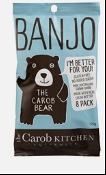 The Carob Kitchen Banjo Bear Milk 8 Pack 120g