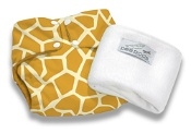 Pea Pods Reusable Nappy One Size Giraffe Print