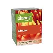 Planet Organic Ginger Herbal Tea 25 Tea Bags