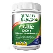 Quality Health Double Strength Turmeric 6200mg 100 Tablets