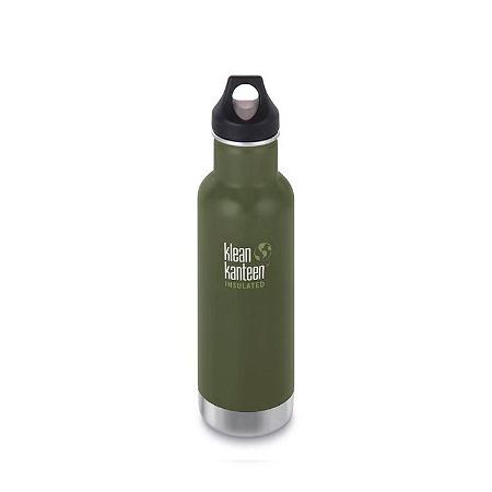 Klean Kanteen Classic Insulated 592ml Loop Cap Bottle Fresh Pine