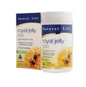 Natural Life Royal Jelly 1000mg 1.2% HAD 60 Capsules