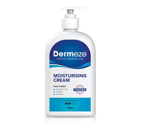 Dermeze Moisturising Cream 500g