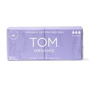 Tom Organic Cotton Tampons 16 Super Tampons