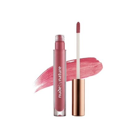 Nude by Nature Moisture Infusion Lipgloss 08 Violet Pink