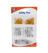 Good Things 5 Assorted Sizes 100 Safety Pins