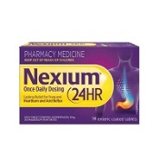 Nexium Once Daily 24 Hour 14 Enteric Coated Tablets