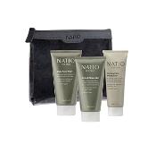 Natio for Men Groom Pack (Inludes full sized Face Wash, Face Moisturiser & Shave Gel)