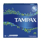 Tampax Tampons Super with Applicator 20 Pack