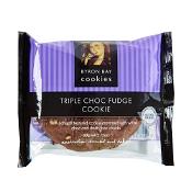 Byron Bay Cookies Gluten Free Cookies Triple Choc Fudge 60g