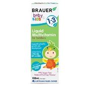 Brauer Baby & Kids Liquid Multivitamin for Toddlers 100ml