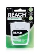 Reach Dental Floss Clean Burst Spearmint 50m