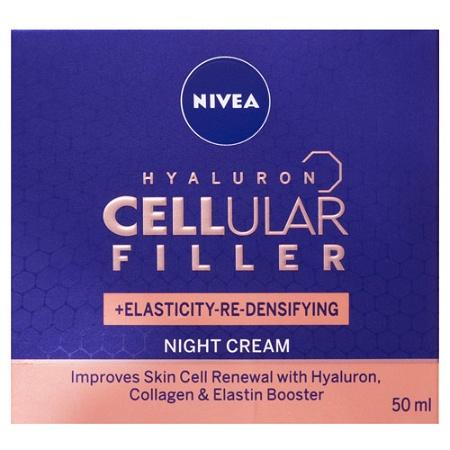 Nivea Hyaluron Cellular Filler Elasticity + Re-Densifying Night Cream 50ml