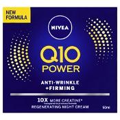 Nivea Q10 Power Anti Wrinkle + Firming Regenerting Night Cream 50ml