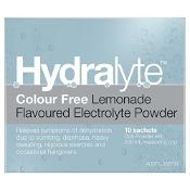 Hydralyte Electrolyte Powder Lemonade 10 Sachets