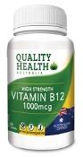 Quality Health Vitamin B12 1000mcg 90 Tablets