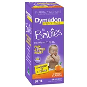 Dymadon 1 Month-2 Years Orange Colour Free 60ml