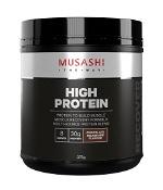 Musashi High Protein Chocolate Milkshake Flavour 375g