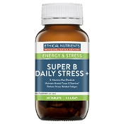 Ethical Nutrients ENERGY & STRESS Super B Daily Stress+ 60 Tablets