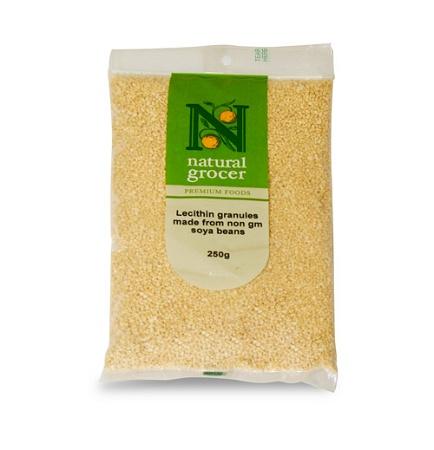 Natural Grocer Lecithin Granules 250g