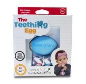 The Teething Egg Blue with Bonus Clip