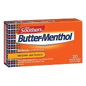 Nestle Butter Menthol Throat Lozenges Box 50g