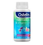 Ostelin Kids Vitamin D & Calcium 90 Chewable Tablets