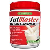Naturopathica FatBlaster Weight Loss Shake Vanilla Ice Cream 430g