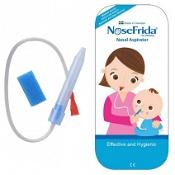 Nosefrida Nasal Aspirator Gentle Parent Powered Suction 1 Pack