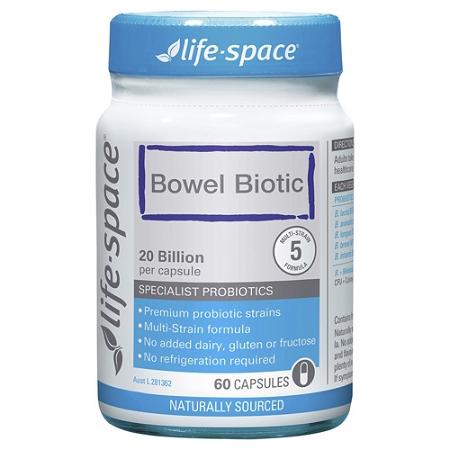 Life-Space Bowel Biotic 60 Capsules