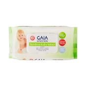 Gaia Natural Baby Bamboo Wipes 80 Pack