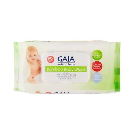 Gaia Baby Bamboo 80 Wipes