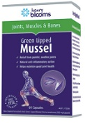 Henry Blooms Green Lipped Mussel 60 Capsules