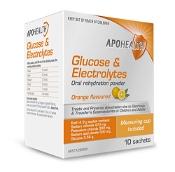 Glucose & Electrolytes Orange Flavour 10 Sachets APOHEALTH