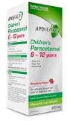 Childrens Paracetamol 48mg/ml 6 to 12 Years 200ml APOHEALTH