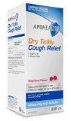 APOHEALTH Dry Tickly Cough Relief Raspberry Flavour 200ml